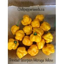 Trinidad Scorpion Moruga Yellow Pepper Seeds