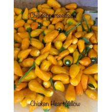 Chicken Heart Yellow Chilli Pepper Seeds